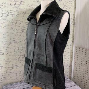 Kuhl, Grey, Dani Sherpa Vest, XL, NWOT